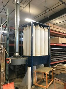 Act Exposed Bag Dust Collector 7 5hp