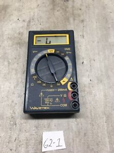 Wavetek Dm2 Compact Digital Multimeter brand New Battery Installed warranty