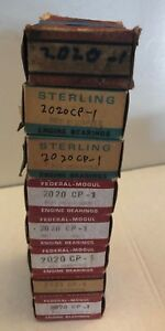 1955 57 Chevrolet 8 Cyl Nos Rod Bearings 2020 Cp 1 Federal Mogul Sterling