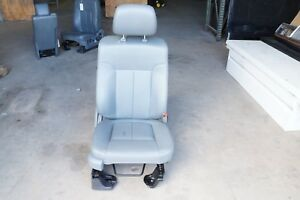2009 2014 2011 2012 2013 Ford F150 Front Right Passenger Seat Leather Grey 18359