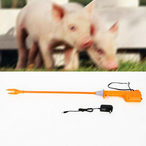 Electric Prod Cattle Cow Hot Shot Handle Swine Proder Livestock Tool 55cm
