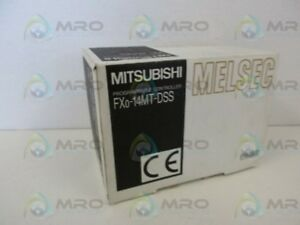 Mitsubishi Fx0 14mt dss Plc Dc Base Transistor Unit new In Box