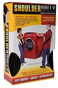 Moving Supplies Shoulder Dolly Moving Straps Lifting Strap For 2 Movers