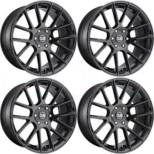 22x9 5 Dub Luxe S205 6x135 30 Gloss Black Wheels Rims Set 4
