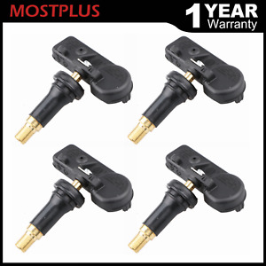 4pcs Tire Pressure Monitor Sensor Tpms For Ford 9l3z 1a189 a Zzda37140 Tpms 12