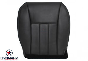 1999 2000 2001 Jeep Cherokee Limited Driver Side Bottom Leather Seat Cover Black