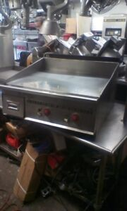 Keating flat Grill 30inch gas used restaurant Equipment