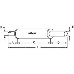 164079a Muffler Made To Fit White Oliver Mpl Tractor Models 1550 1600 1650 700