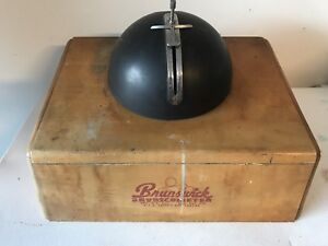 Brunswick Brunscometer Bowling Ball Drilling Layout Device Antique