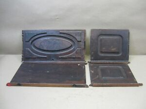 Antique Willcox Gibbs Treadle Sewing Machine Coffin Top Lid Restoration Panels