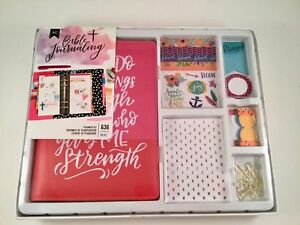 Bible Journaling Planner Kit can Do All Things Agenda Non dated Monthly Weekly