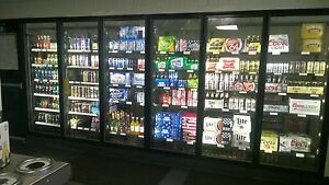 Refridgerated Glass Display Cooler Doors Anthony Model 401 new 15 Drs W accy