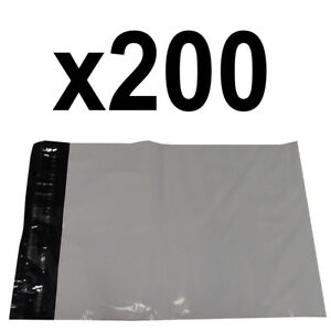 200 12 X 15 Waterproof Light Weight Poly Mailer Bag Envelopes 2 5 Mm Thickness