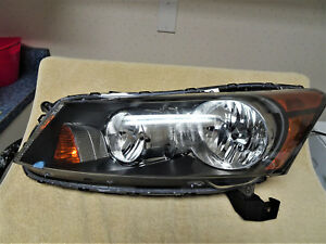 Accord Honda Sedan Headlight 2008 2009 2010 2011 2012 Drivers Side Honda Used