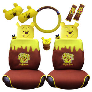 Winnie The Pooh Car Accessory Set 10 Pieces Awesome Pooh Collection