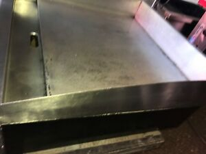 Starmax electric Flat Grill 24inch used restaurant Equipment