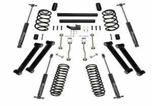 Super Lift 4 Inch Lift Kit 1997 2002 Jeep Wrangler Tj With Superlift Shocks