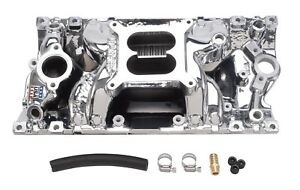Edelbrock 75164 Rpm Air Gap Vortec Intake Manifold Fits Small Block Chevy