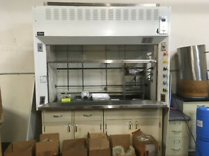 6 St Charles Chemical Fume Hood With Bench