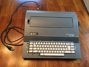 Smith Corona Sc 125 Electric Typewriter With Box Manual And Accessories