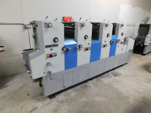 Ryobi 3304h 4 color Offset Printing Press