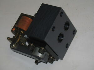 1 Waterman Solenoid Manifold Valve Normally Open 220v 60cy