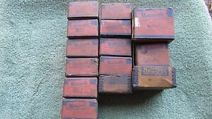 Nos Ford Chevy Buick Dodge Nash Austin Amc Vintage Engine Bearings 353