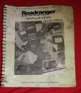 Nexiq Pro Link Dana Eaton Roadranger Diagnostic Card User Manual Prolink