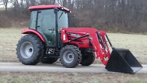 2013 Mahindra 5010 4x4 Tractor With Loader And Cab