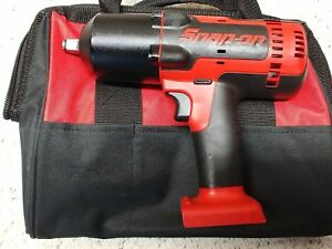 Snap On Ct8850 1 2 18 Volt Monsterlithium ion Impact Wrench tool Only bag used