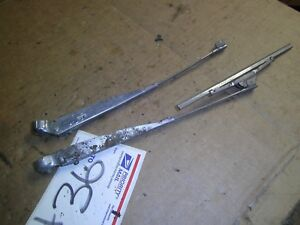 Vintage Hot Rat Rod Ratrod Car Truck 11 Right Left Windshield Wiper Arm Arms Pr