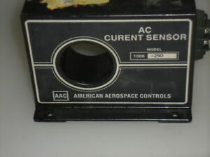 American Aerospace Controls Ac Current Sensor 1006 250 used
