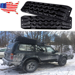 Fly5d 4wd 2 Pieces New Recovery Traction Tracks Sand Mud Snow Track Tire Ladder