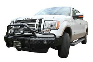 Ranch Hand Bsf09hbl1 Summit Bullnose Series Front Bumper Fits 09 14 F 150