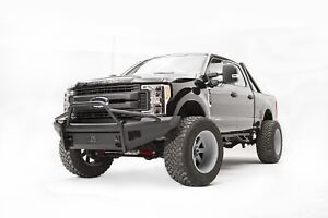 Fab Fours Fs17 q4162 1 Elite Front Ranch Bumper Fits 2017 Ford F 250 Super Duty