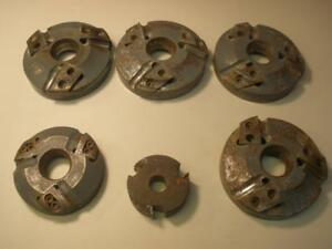 Lot Of 6 Voorwood And Miscellaneous Tool Shaper Cutters