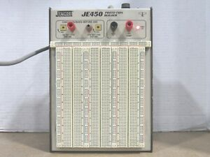Tested Working Jameco Electronics Je 450 Proto type Builder Breadboard