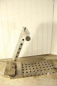12 Sine Plate Block With Holes 12 X 5 7 8 X 2 1 4 Steel 26 Pounds Machinist