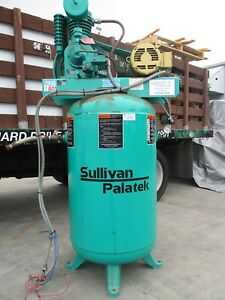 Sullivan Palatek Reciprocating Air Compressor 5 Hp