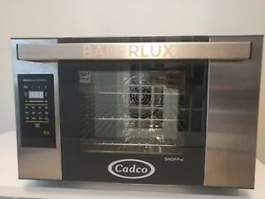 Cadco Xaft 03hs gd Bakerlux Half Size Electric Convection Oven