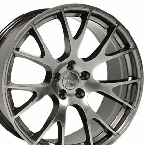 Cp 22 Rims Fit Dodge Challenger Charger Chrysler 300 Hellcat Hyper Black 2528