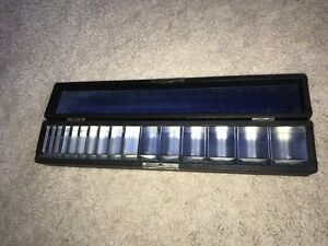 Vintage Hard To Find Ophthalmic Prism Bar Set E b Meyrowitz Optometry