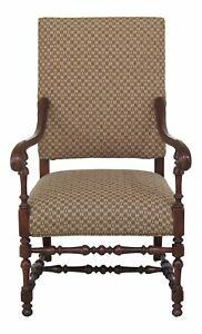 46555ec Southwood Large Upholstered Throne Chair