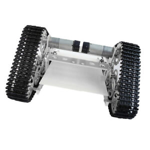 All Metal Robot Tank Crawler Chassis Arduino Smart Car High Power Motor