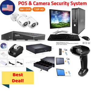 Best Deal Camera Security Pos Point Of Sale System Combo Kit Retail Store