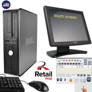 Point Of Sale System Pos All In One Touchscreen Liquor Retail Dell Touch Screen