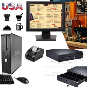Touch Screen Pos Point Of Sale System Hardly Used Bar Restaurant Retail