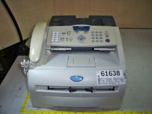 Brother Intellifax Fax 2820 Laser Fax Machine See Notes