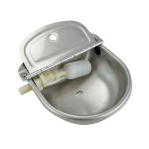 Farm Auto Water Trough Stainless Bowl For Horse Dog Cow Sheep Goat Chicken Drink