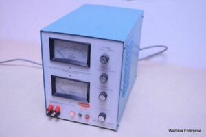 Searle Voltage Current Regulated Power Supply Model 3 1155 Buchler Instruments